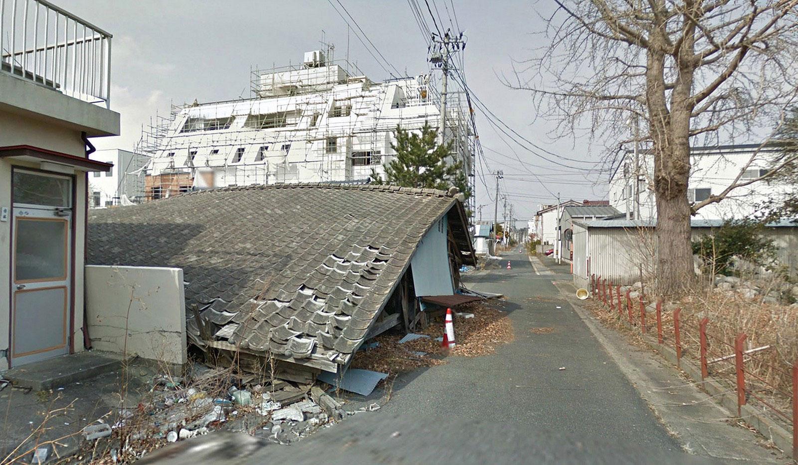 дом в японском городе-призраке