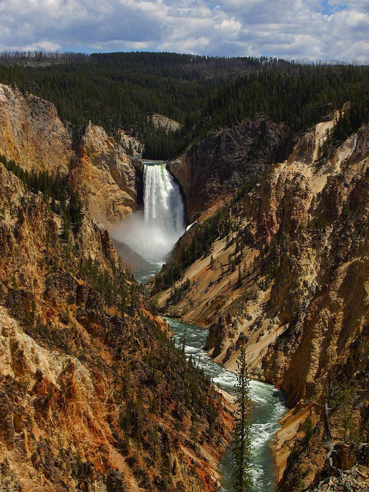 Нижний Водопад в США