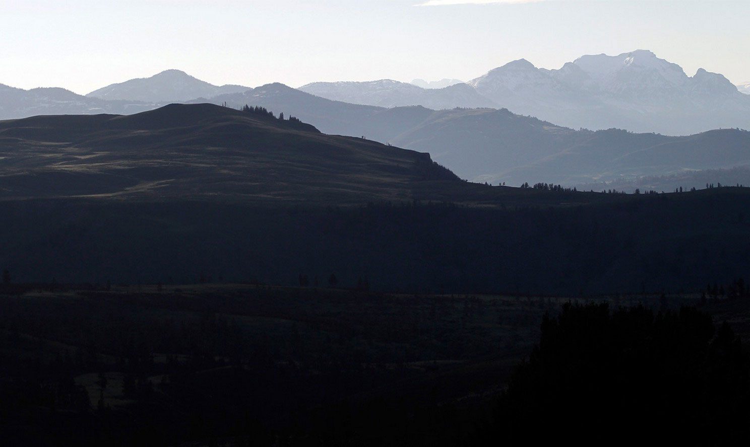 Горный хребет Абсарока