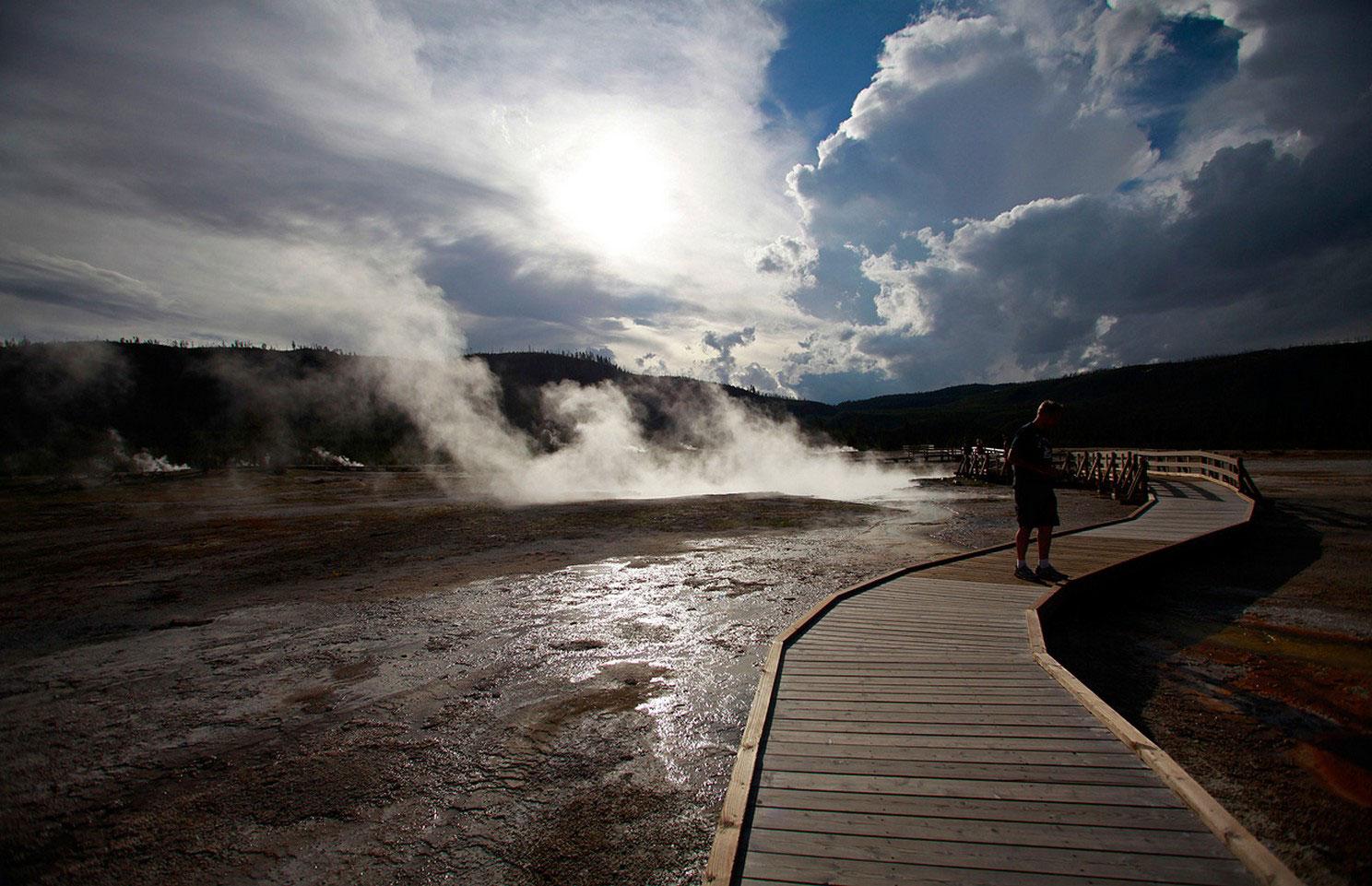 гейзеры и термальные источники