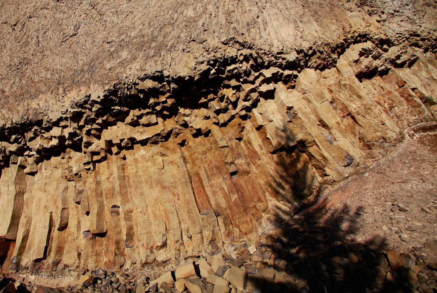 склон скалы