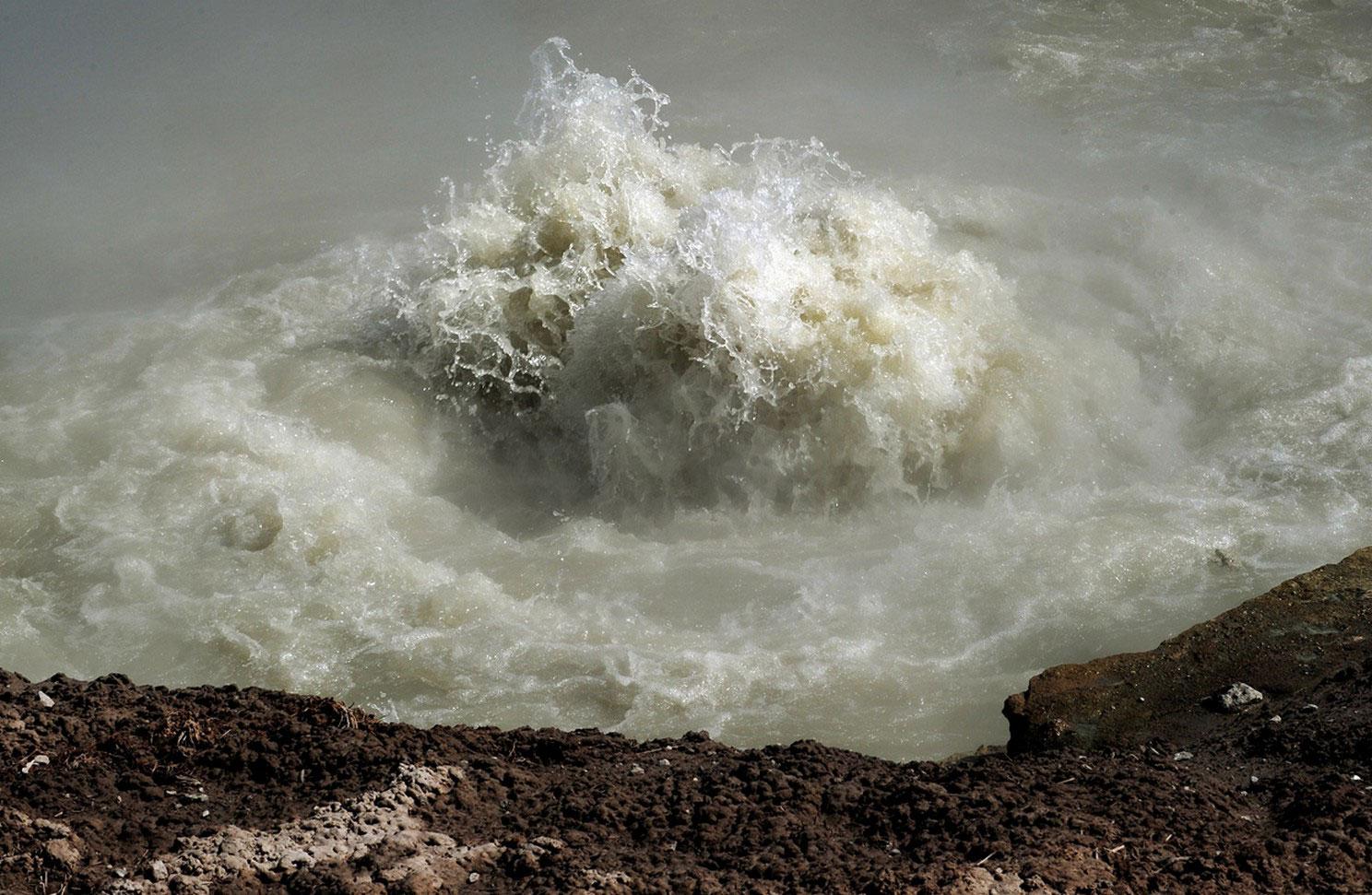 Вскипающая вода