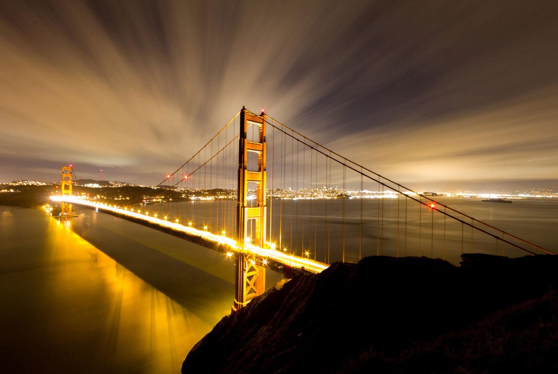 Висячий Мост Золотые Ворота