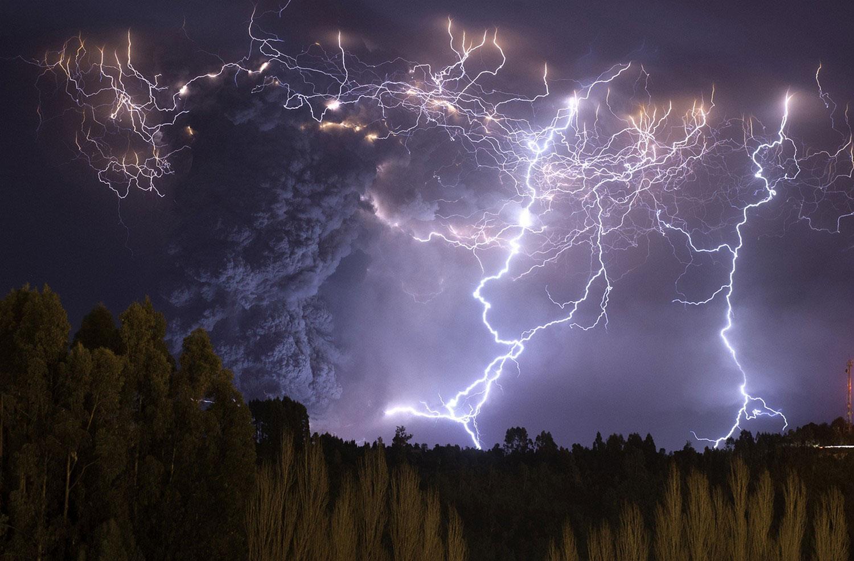 Извержение вулкана Пуйехуе-Кордон Каулле