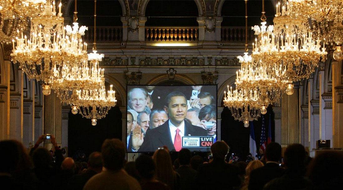 парижская мэрия, фото США