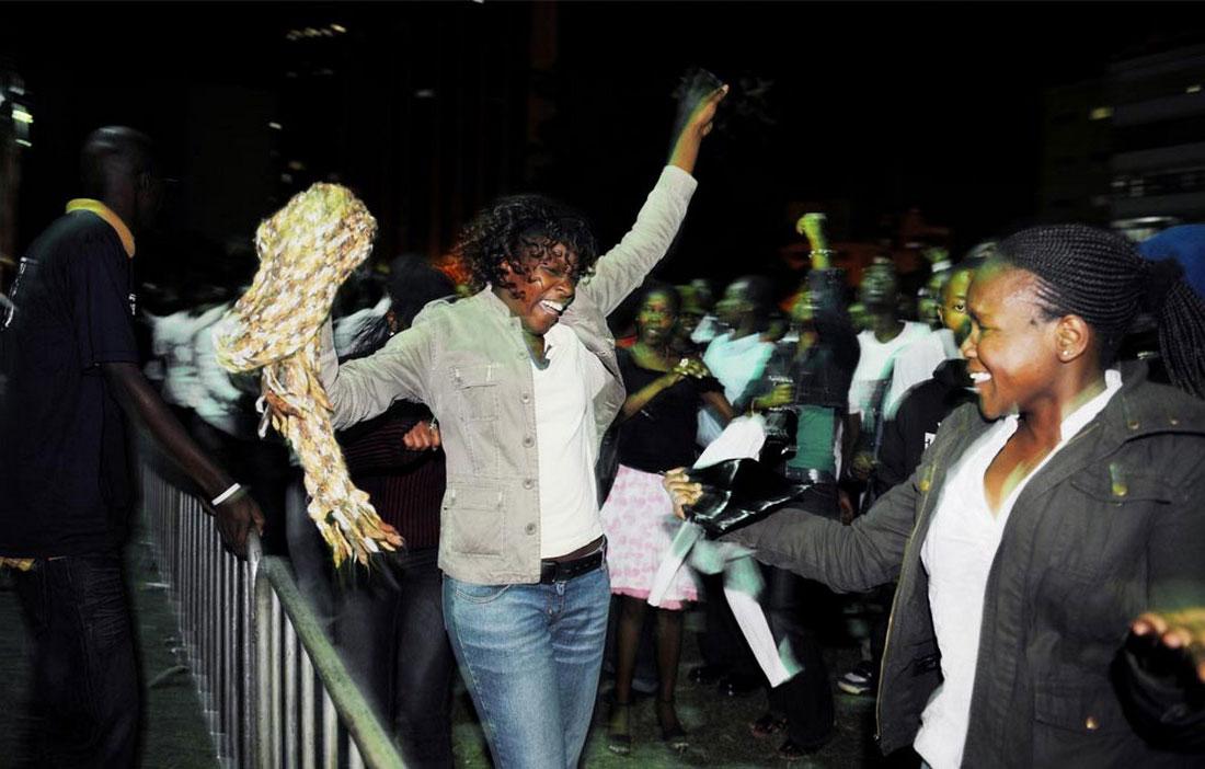 кенийцы довольны новому президенту, фото США