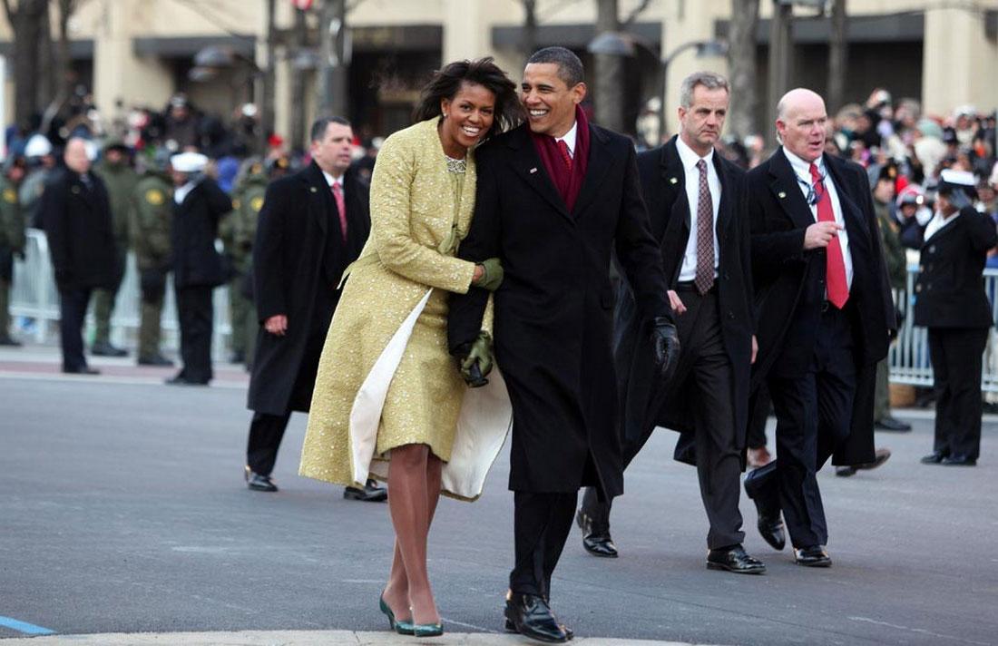 президентская чета Обама, фото США