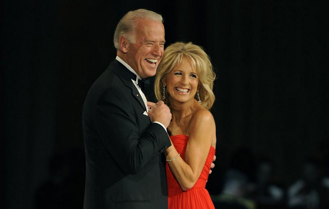 Вице-президент с женой, фото США