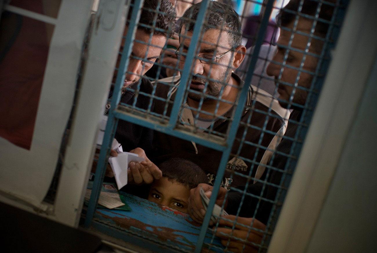 продовольственную помощь в лагере беженцев, Палестина