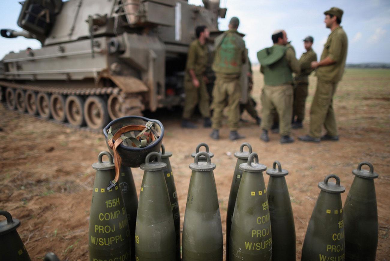 на границе Израиля с сектором Газа