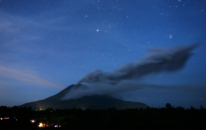гора Sinabung