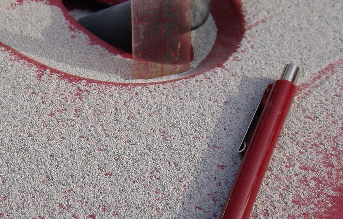 вулканический пепел на машине, фото с Аляски