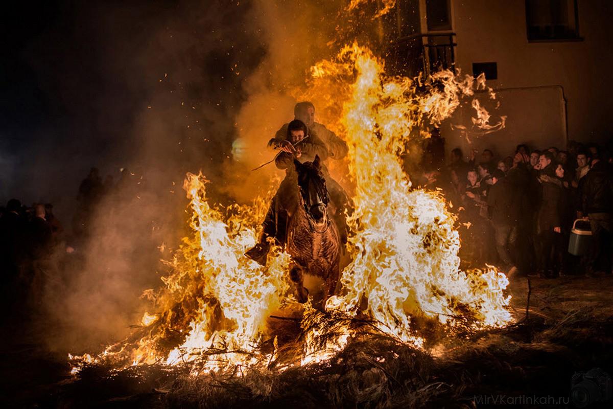 огненная преграда