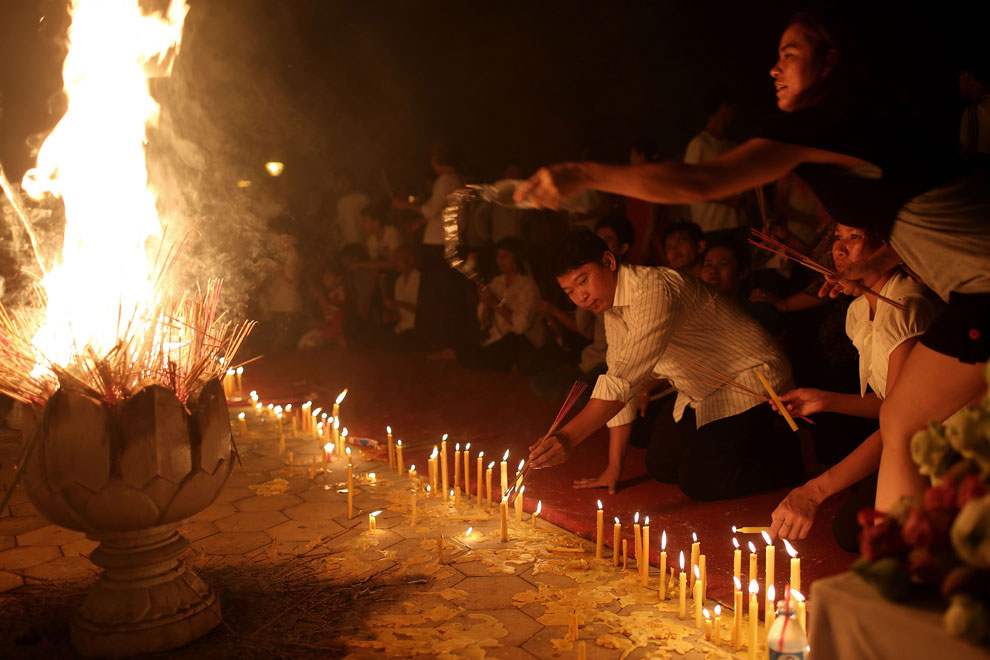 оплакивание короля, Камбоджи, фото
