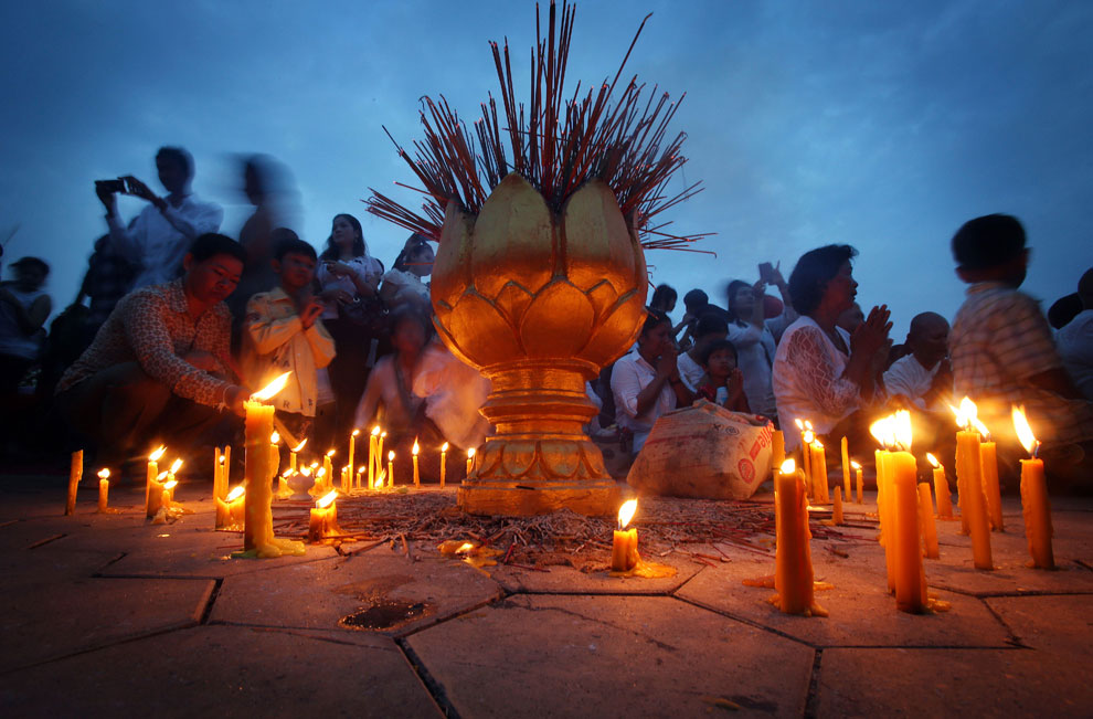 горящие свечи, фото