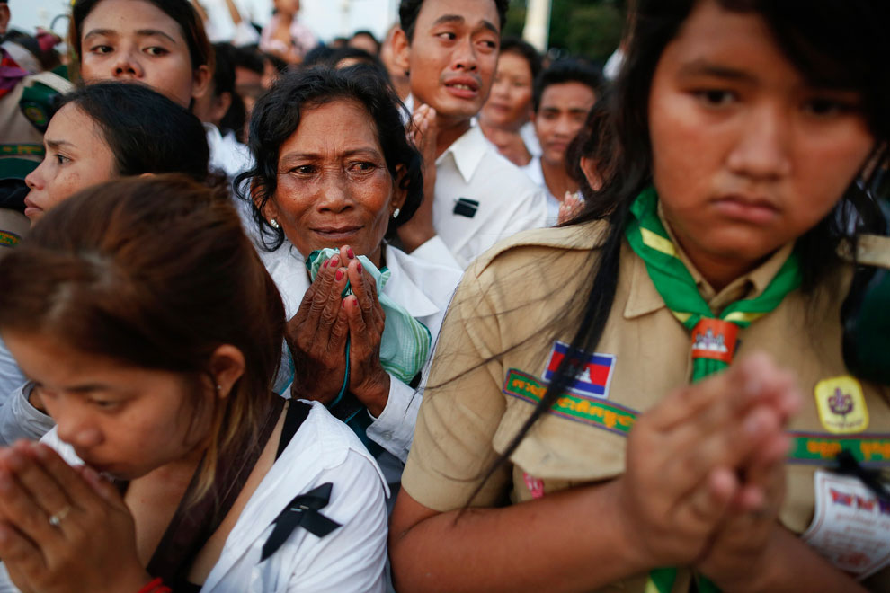 похороны во дворце, Камбоджа, фото
