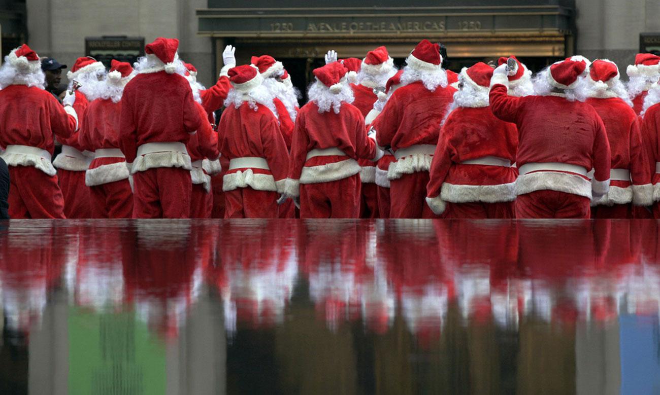 Санта Клаус в Католическое Рождество, фото