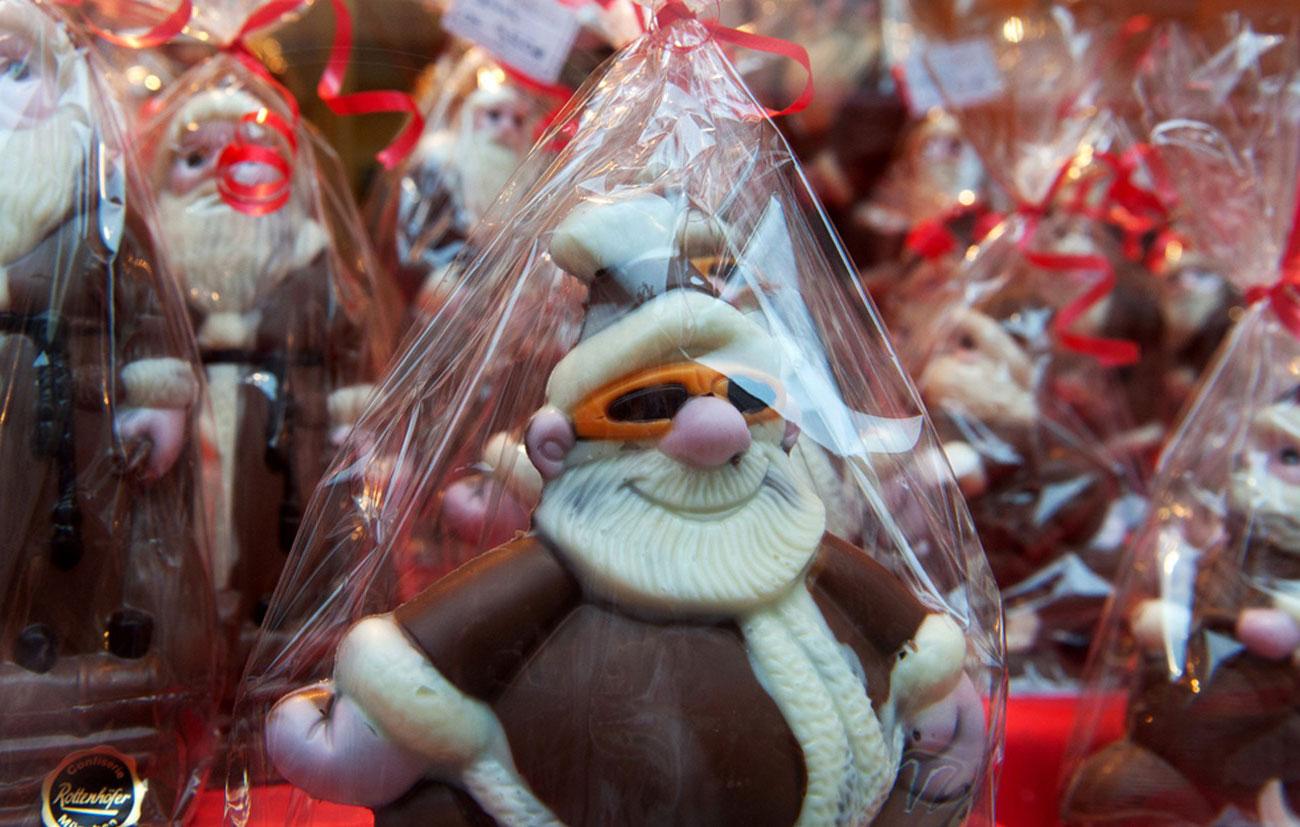 Шоколадный Дед Мороз, фото