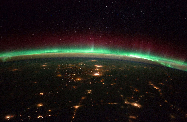 Земля с Международной космической станции, фото