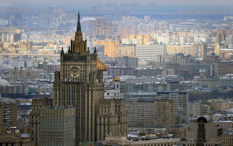 Здание Министерства иностранных дел России, фото
