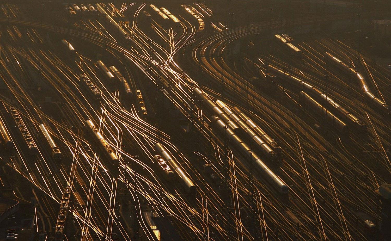 Железнодорожные пути, фото