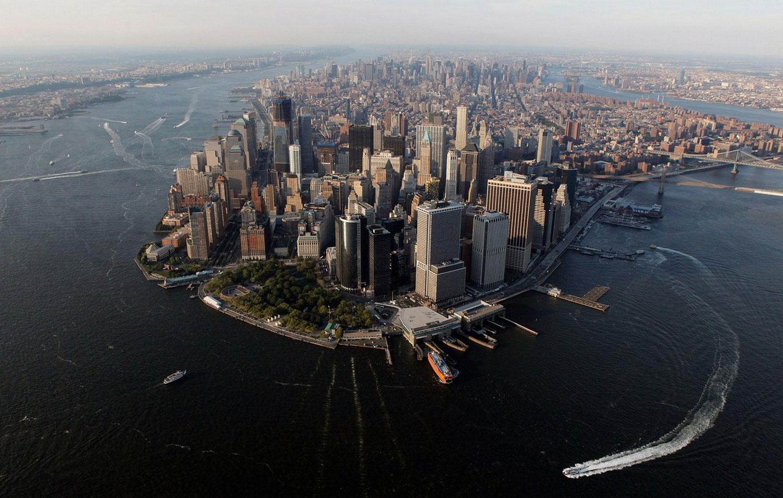 земли нижнего Манхэттена, фото