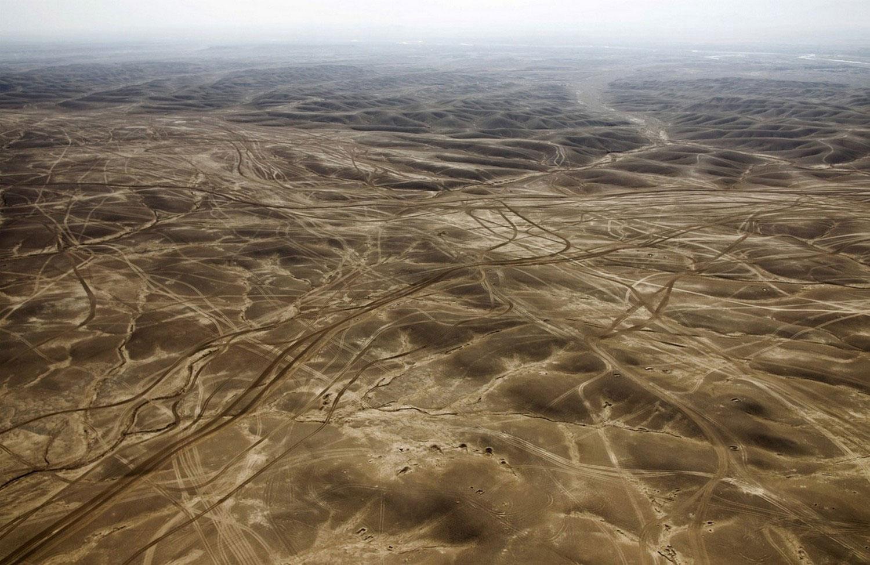 Пустынные земли провинции гильменд