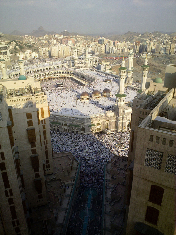 окрестности мечети Харам, фото
