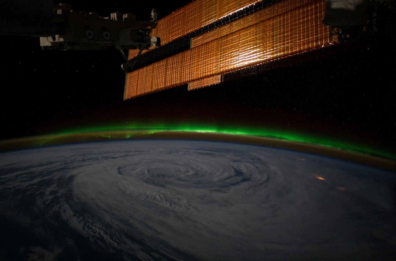 вихрь над заливом Аляска, фото