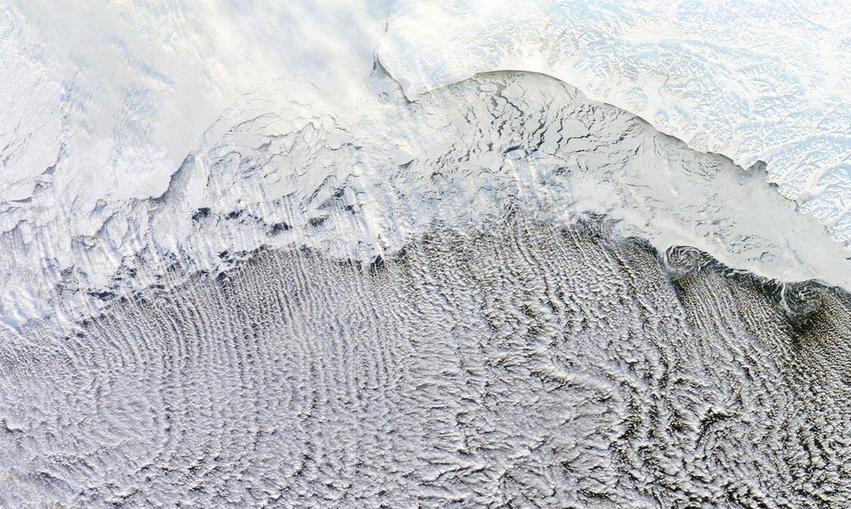 облака над Беринговым морем, фото
