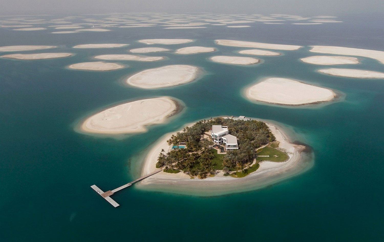 искусственный архипелаг, фото