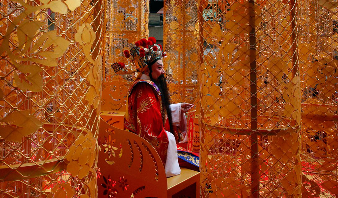китайский бог удачи, фото