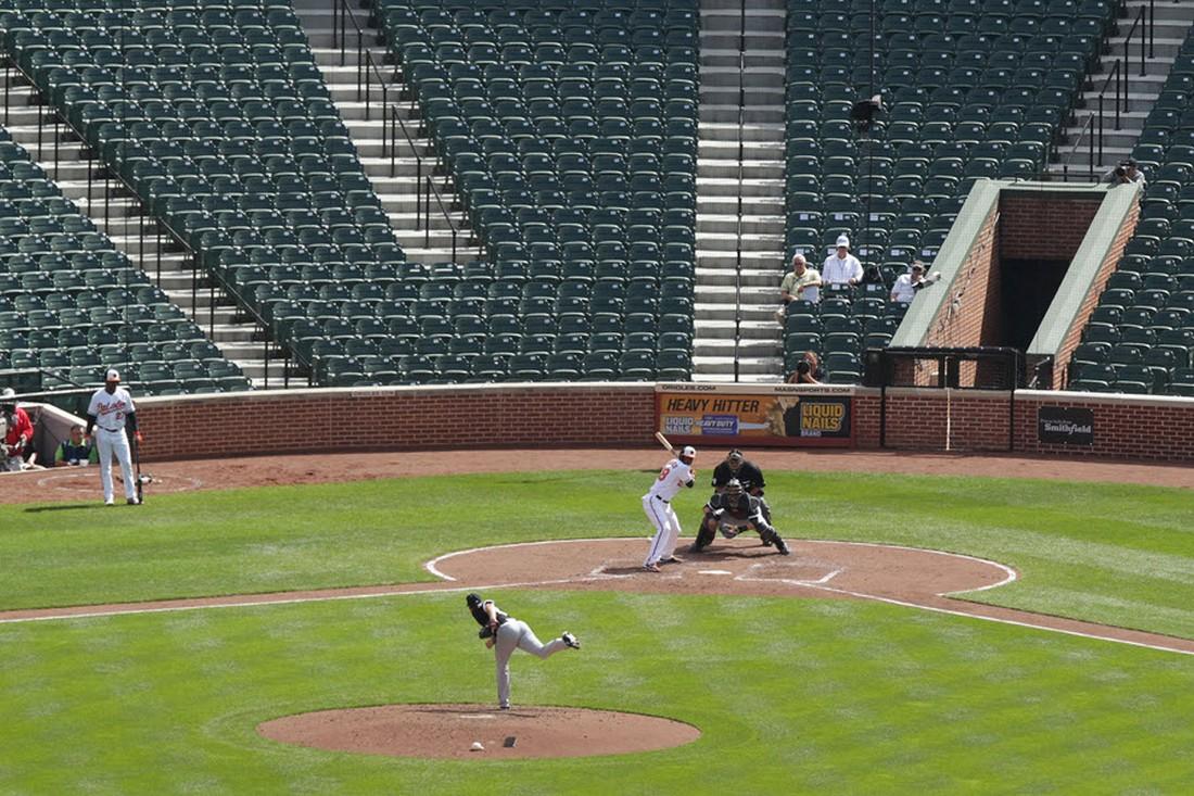 игра Высшей лиги по бейсболу