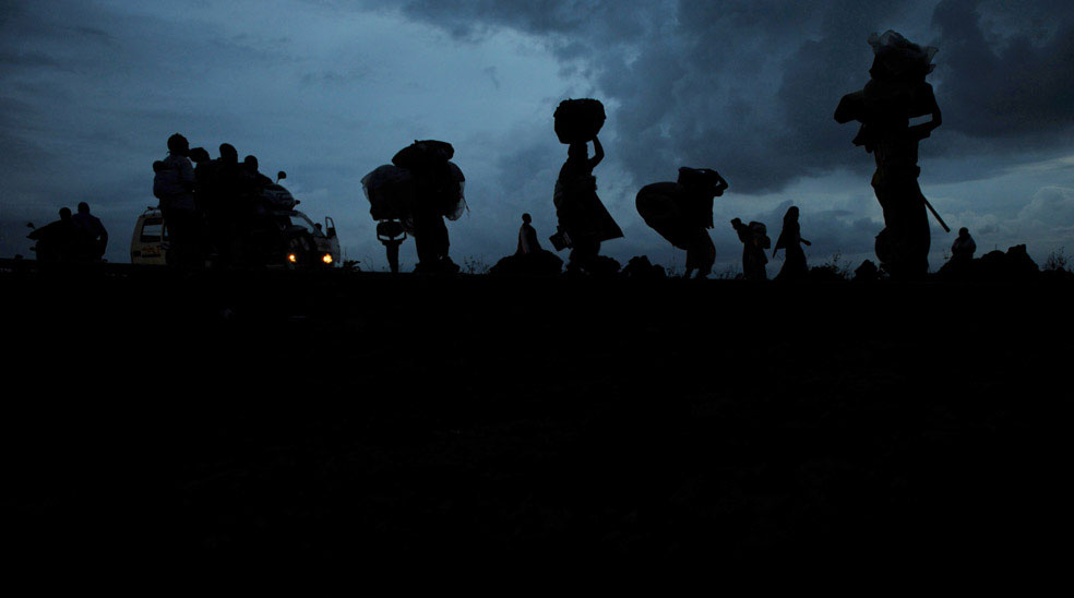 беженцы Конго, фото