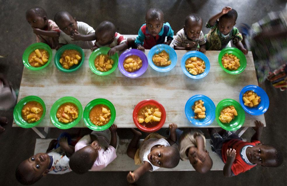 осиротевшие дети Конго, фото