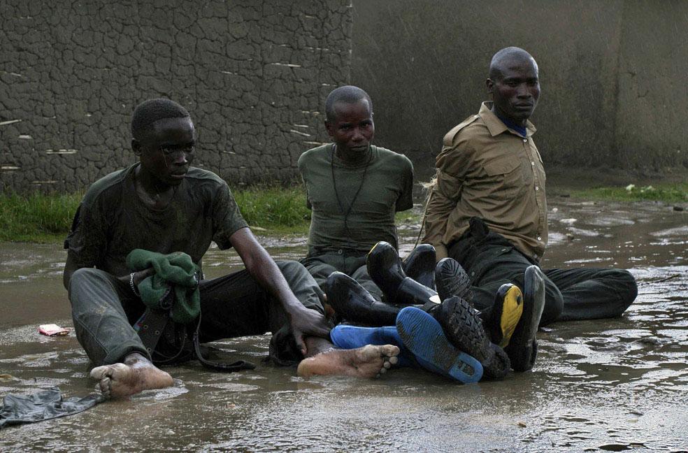 Захваченные ополченцы, Конго, фото