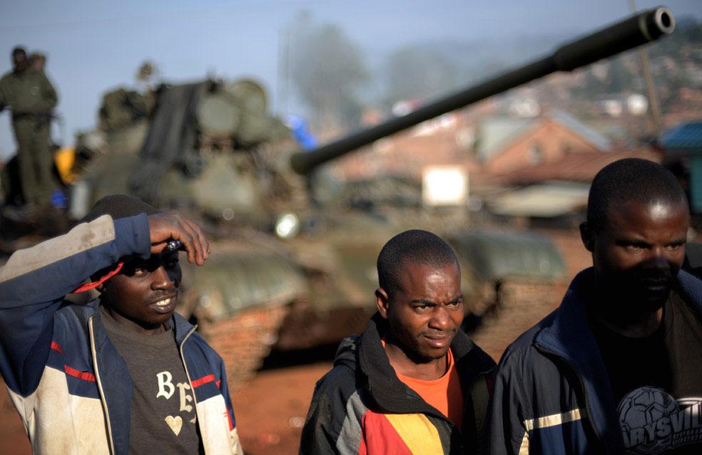конголезская танковая армия, Конго, фото