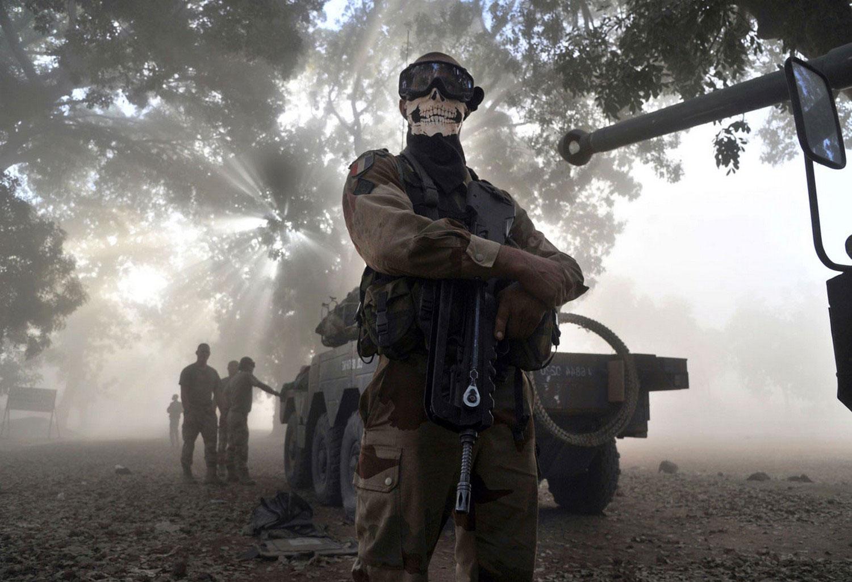Солдат французского легиона, фото Мали