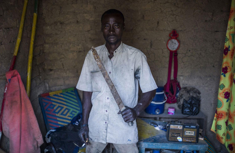 Местный житель Мали