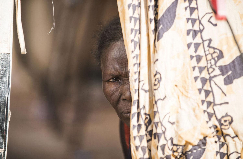 в лагере для беженцев, фото Мали
