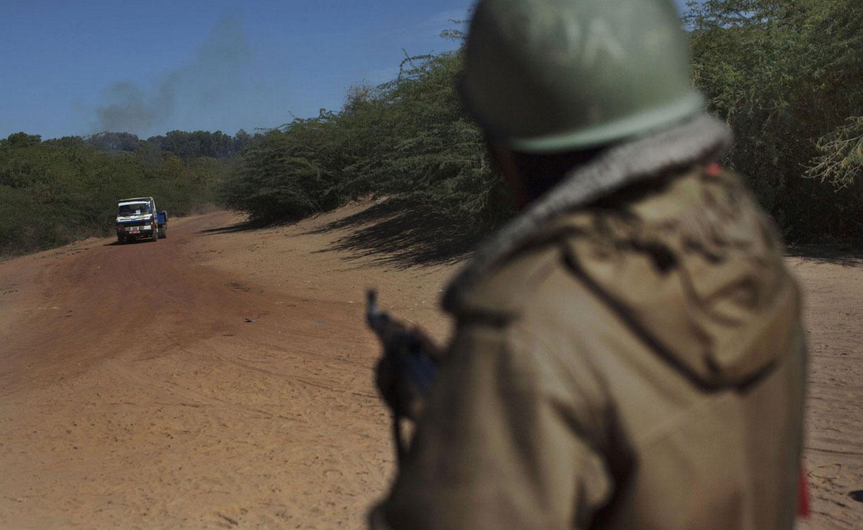 Малийский солдат на кпп, фото Мали