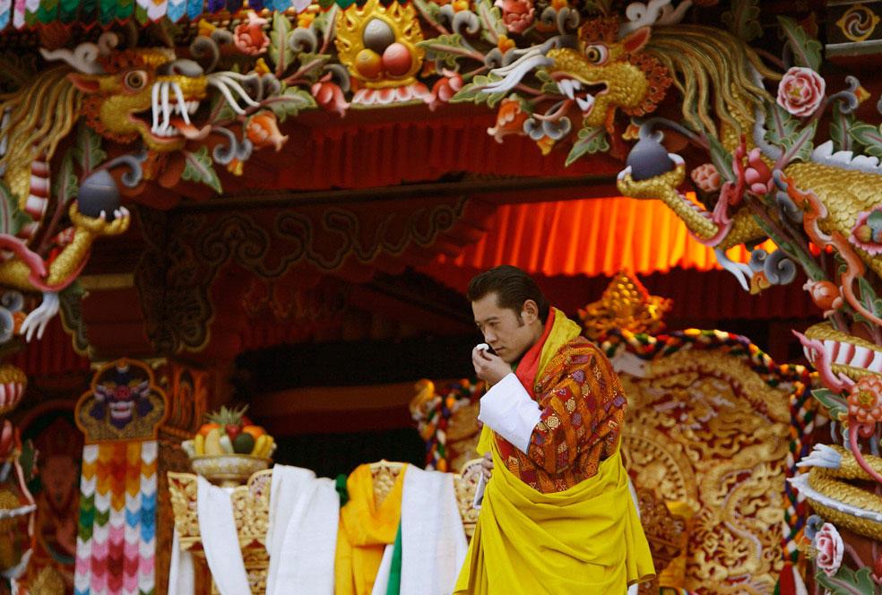 Молодой король, Бутан, фото