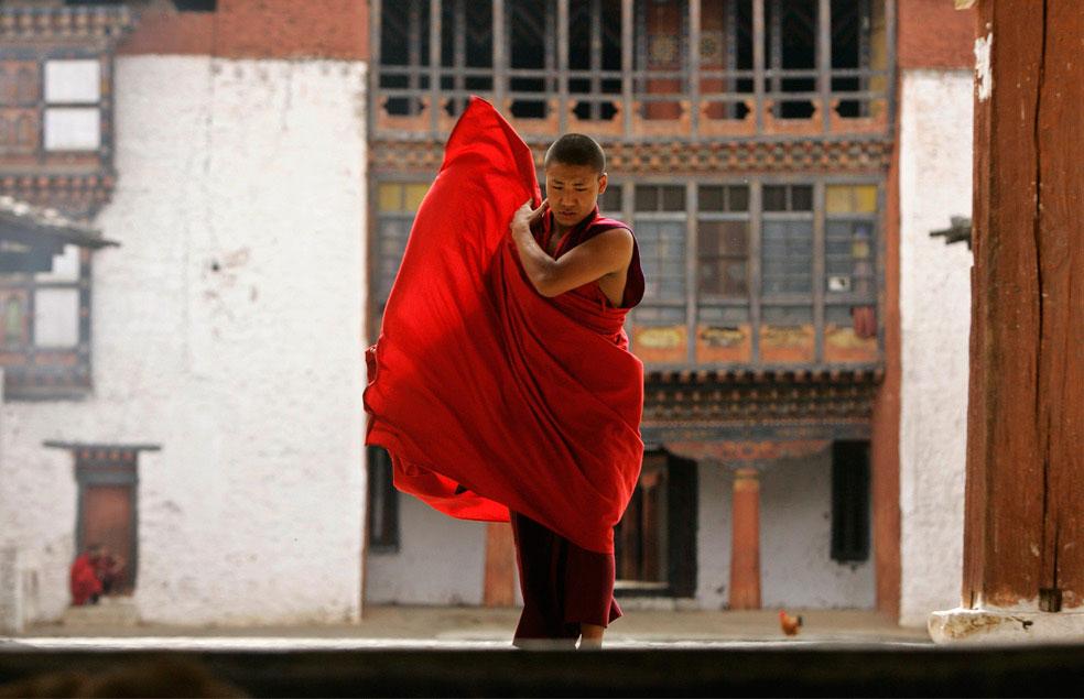 монастырь Вангдью Подранг, Бутан, фото