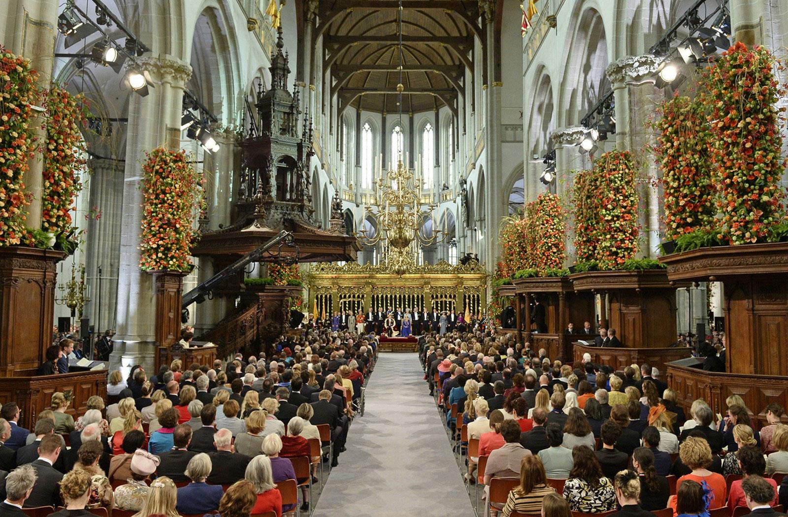 Церемония коронации