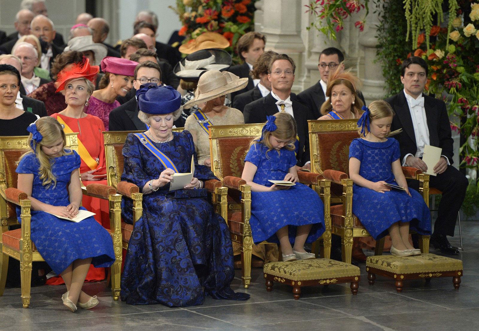 Бывшая королева Нидерландов