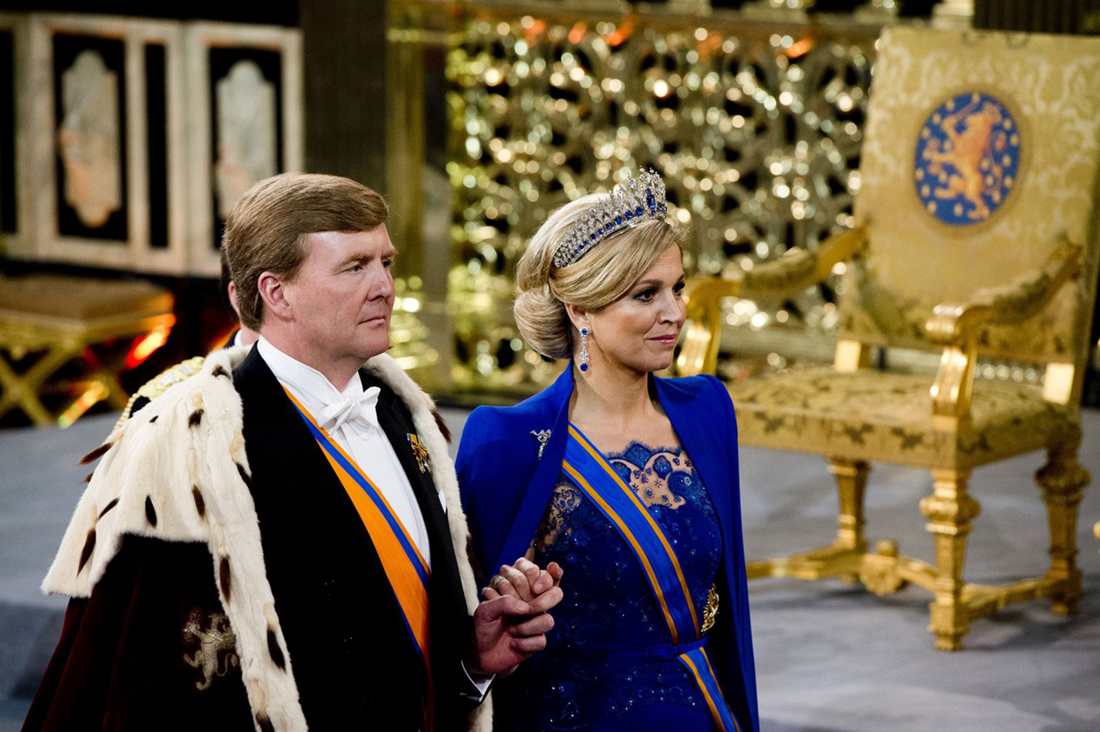Король Виллем-Александер и Ее Величество Максима