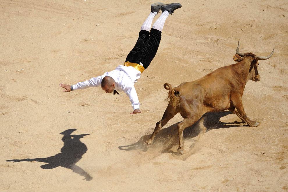 фото тореодора в Испании
