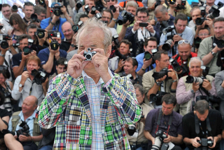 Актер Билл Мюррей на фестивале, фото