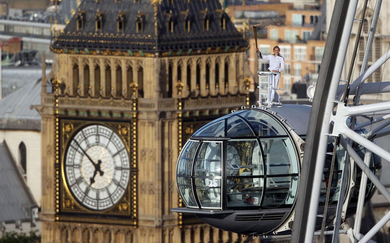 биг-бен в Лондоне, фото