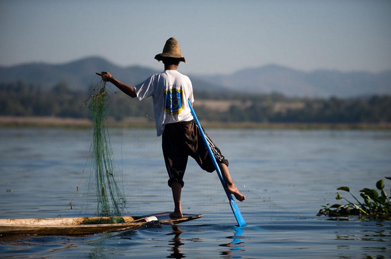 необычная рыбалка в фотографиях